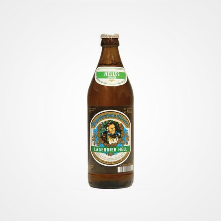 Bottiglia di Birra Augustiner Helles da 50cl