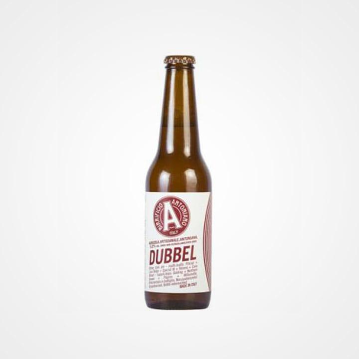 Bottiglia di Birra Antoniana Dubbel da 33cl