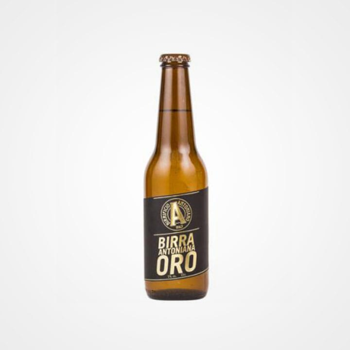 Bottiglia di Birra Antoniana Oro da 33cl