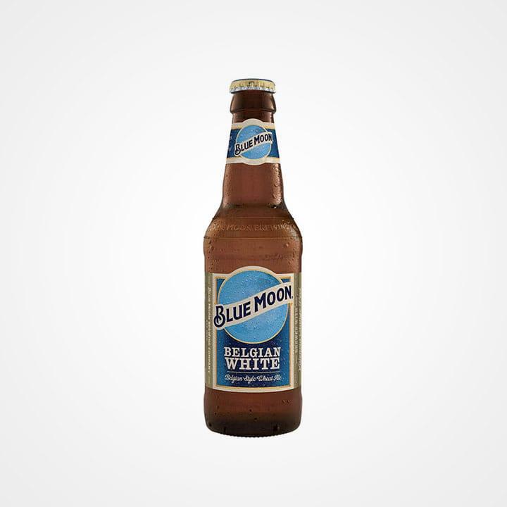Bottiglia di Birra Blue Moon Belgian White da 35.5cl