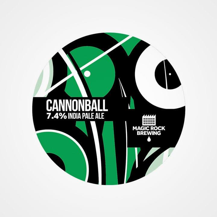 Bottiglia di Birra Cannonball da 33cl