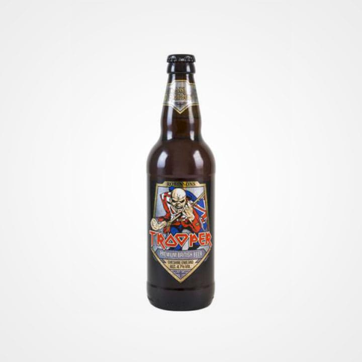 Bottiglia di Birra Iron Maiden Trooper Ale da 50cl