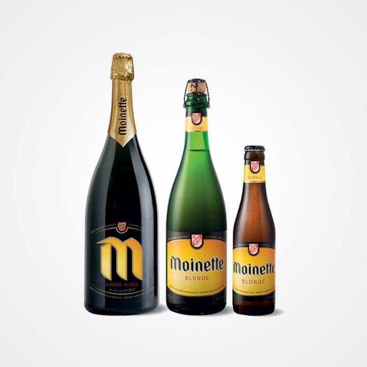 Bottiglia di Birra Moinette Blonde da 33cl