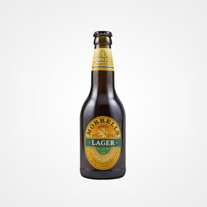 Bottiglia di Birra Morrells Lager da 33cl