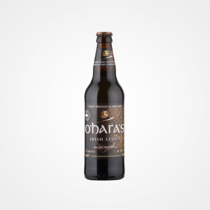 Bottiglia di Birra Oharas Irish Stout da 50cl