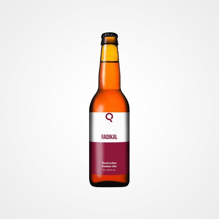 Bottiglia di Birra Radikal da 33cl