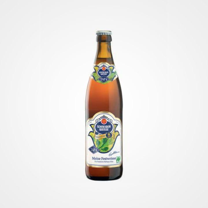 Bottiglia di Birra Schneider Weisse Meine Festweisse Tap 4 Bio da 50cl
