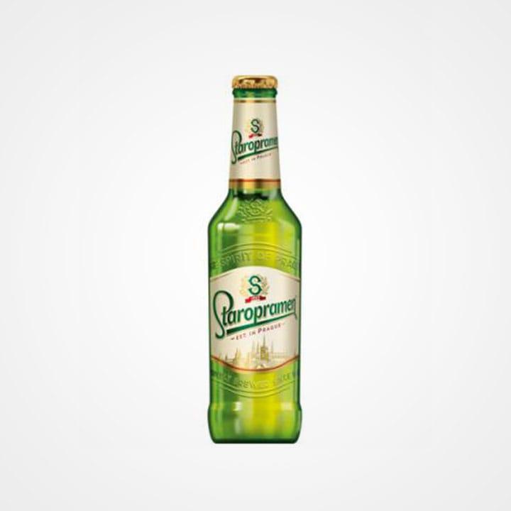 Bottiglia di Birra Staropramen Premium da 33cl