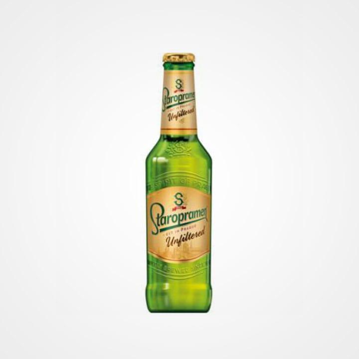 Bottiglia di Birra Staropramen Unfiltered da 33cl
