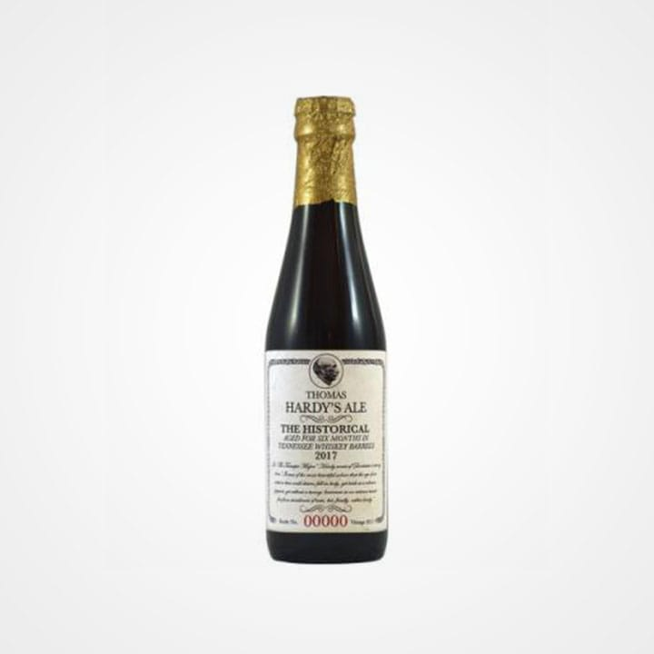 Bottiglia di Birra Thomas Hardy's Ale The Historical Vintage 2017 da 25cl