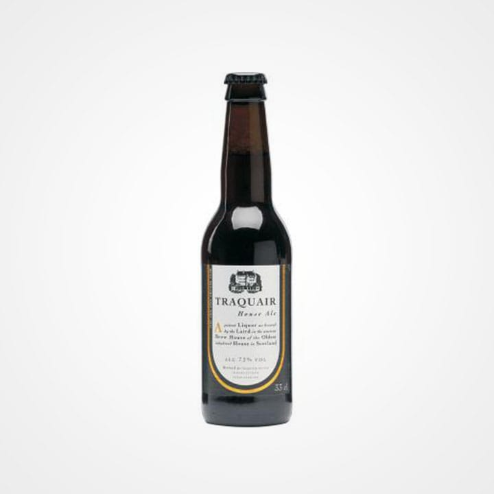 Bottiglia di Birra Traquair House Ale da 33cl