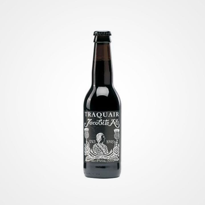Bottiglia di Birra Traquair Jacobite Ale da 33cl