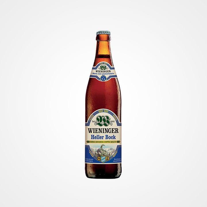 Bottiglia di Birra Wieninger Heller Bock da 50cl