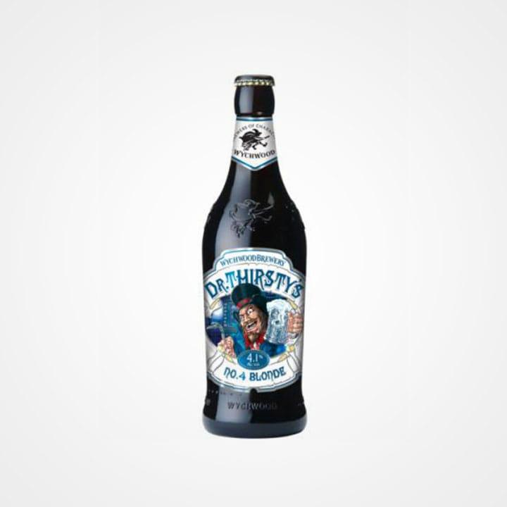Bottiglia di Birra Wychwood Dr. Thirtstys da 50cl