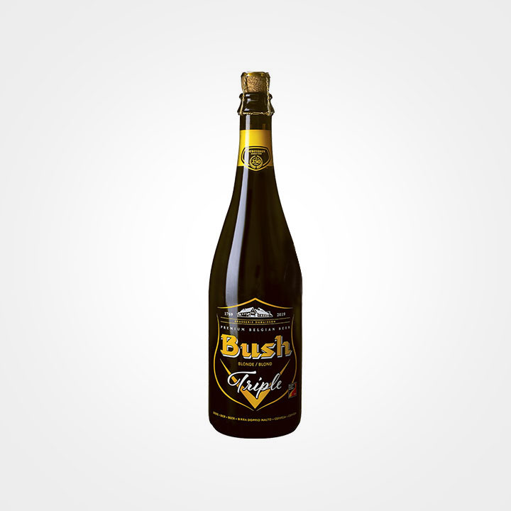 Bottiglia di Birra Bush Triple da 75cl