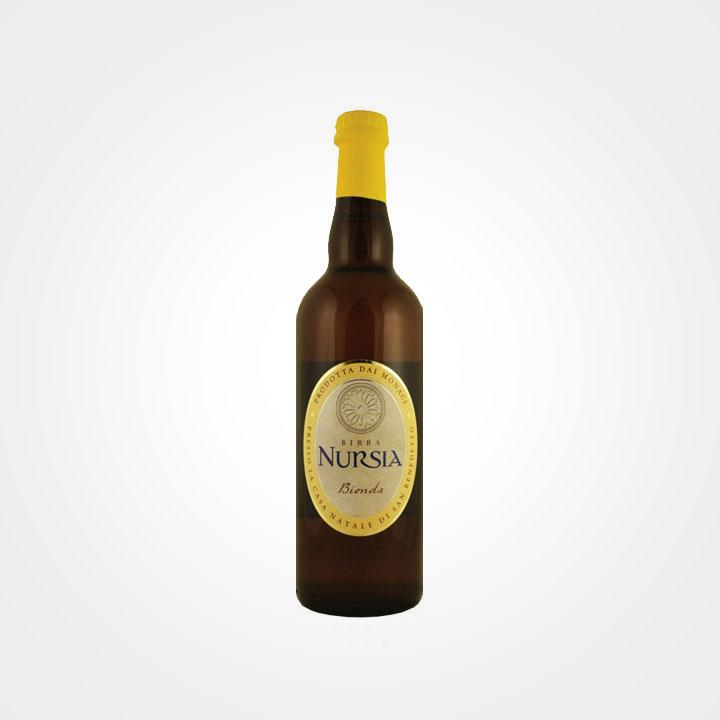 Bottiglia di Birra Nursia Bionda da 75cl