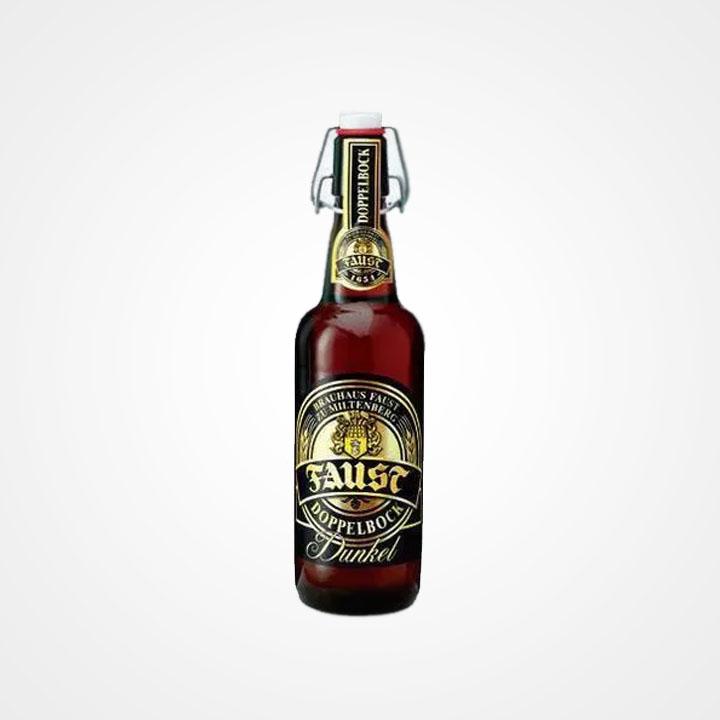 Bottiglia di Birra Faust Doppelbock Dunkel da 50cl
