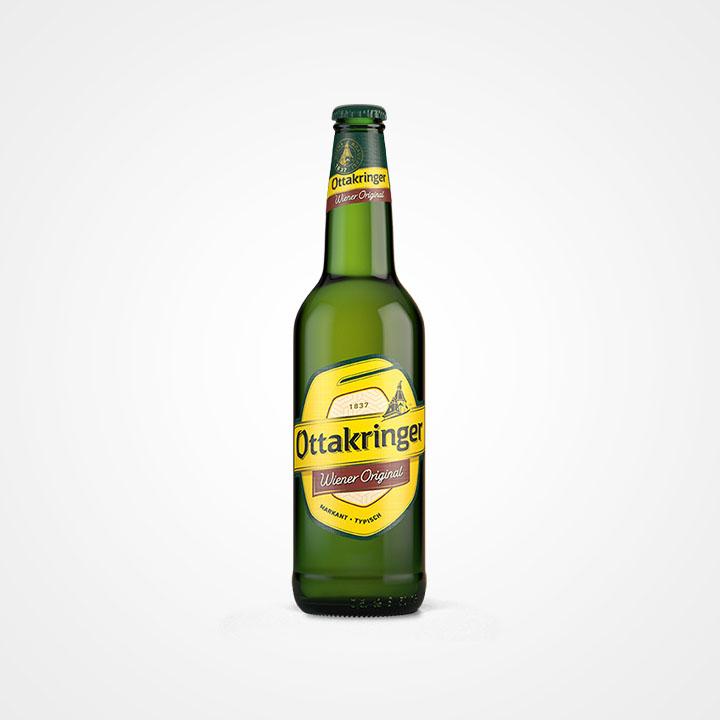 Bottiglia di Birra Ottakringer Wiener Original da 50cl