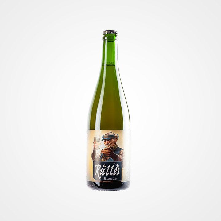 Bottiglia di Birra Rulles Blonde da 75cl