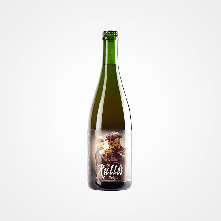 Bottiglia di Birra Rulles Triple da 75cl