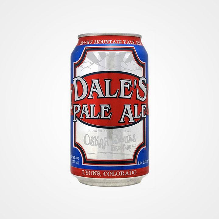 Lattina di birra Dale's Pale Ale da 35,5cl