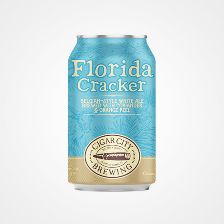 Lattina di birra Florida Cracker da 35,5cl