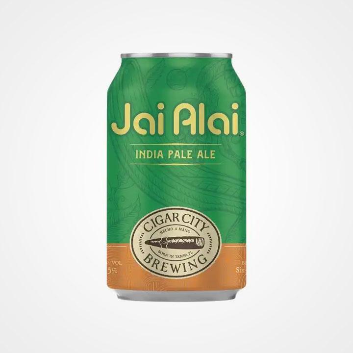 Lattina di birra Jai Alai da 35,5cl