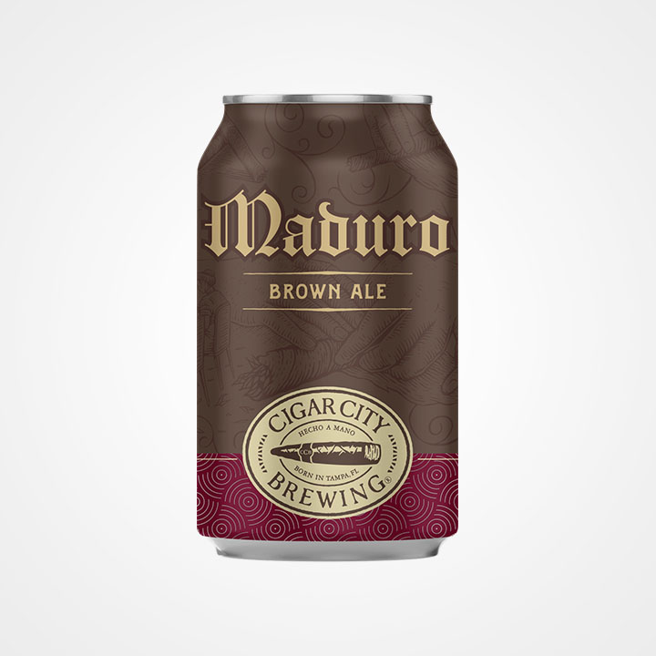 Lattina di birra Maduro da 35,5cl