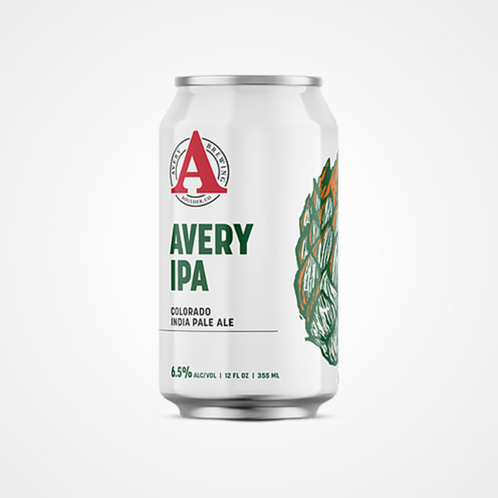 Lattina di birra Avery IPA da 35,5cl