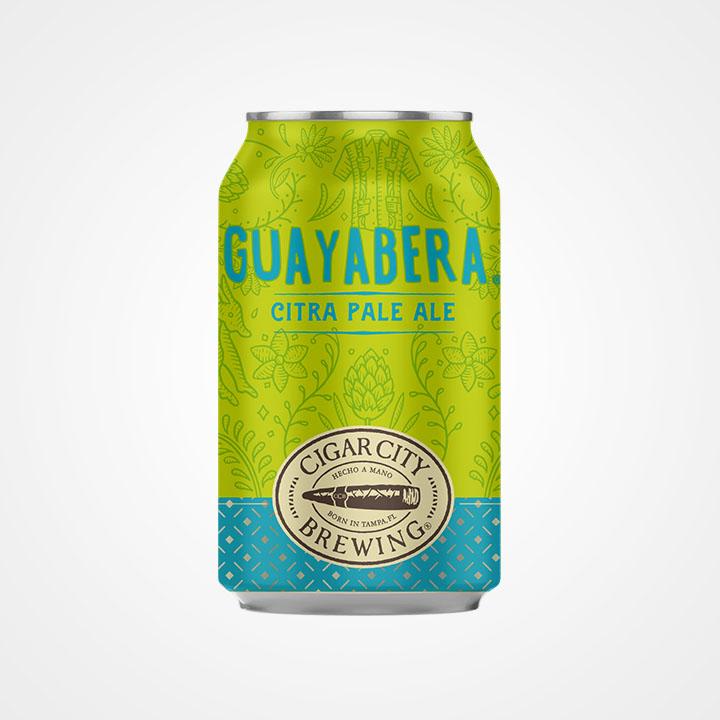 Lattina di birra Guayabera da 35,5cl