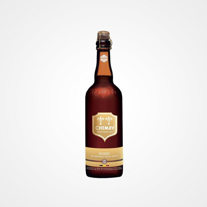 Bottiglia di Birra Chimay Dorée da 75cl