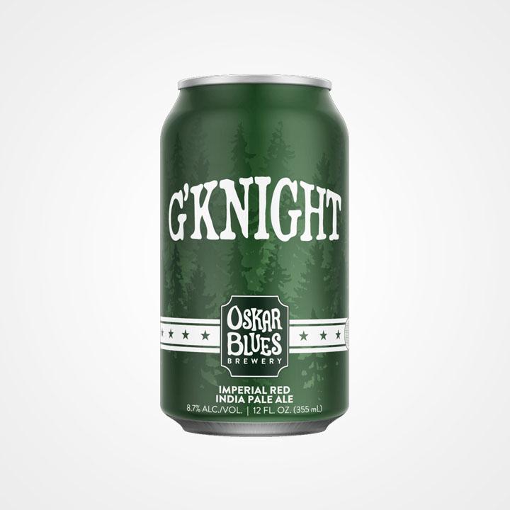 Lattina di birra G'Knight da 35,5cl