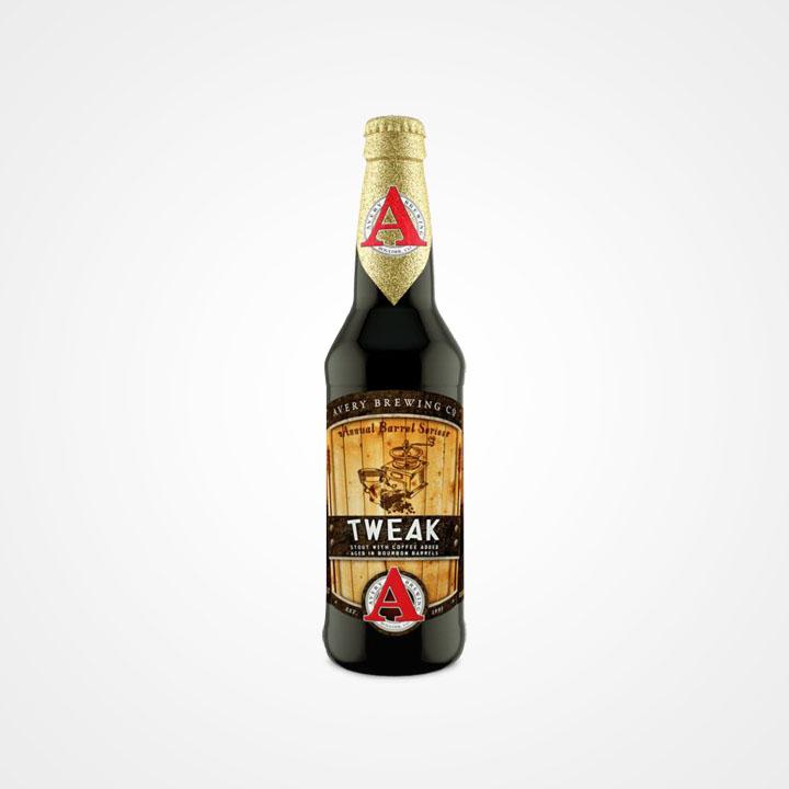 Bottiglia di birra Tweak da 35,5cl